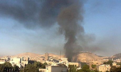 Reports Syria Capital Damascus Rocked By Twin