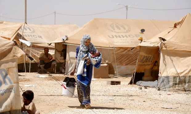 UN Says Syria Refugees Hit Record In August