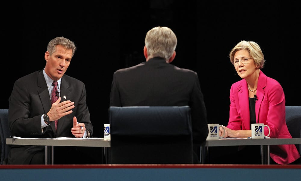 Brown Warren debate I'm not a student in your classroom' or how not to zing