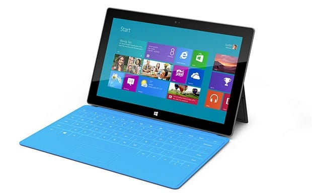 Microsoft Launches Windows 8, Surface Tablet