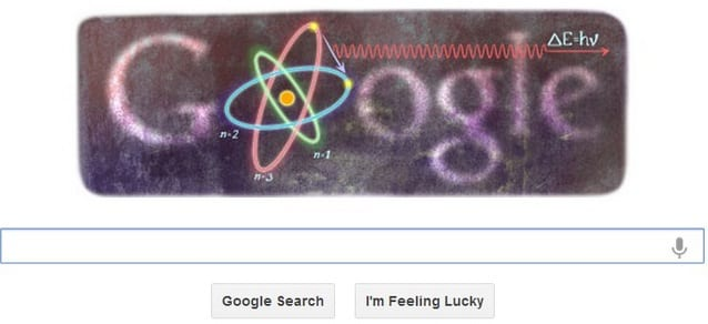 Niels Bohrs 127th birthday marked by Google doodle