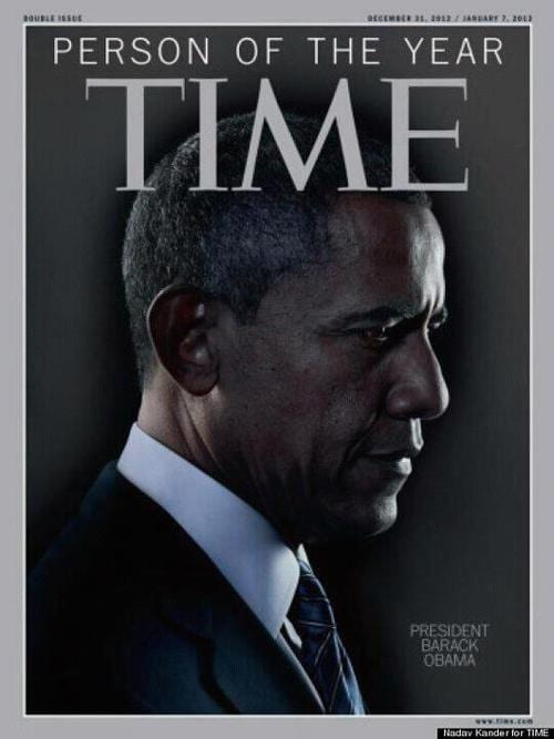 US President Barack Obama Named TIME's Person Of The Year1