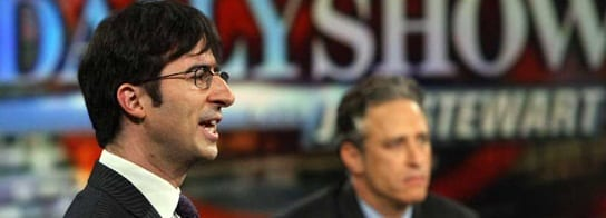 John Oliver Replacing Jon Stewart As 'Daily Show' Host June 10 To September 3