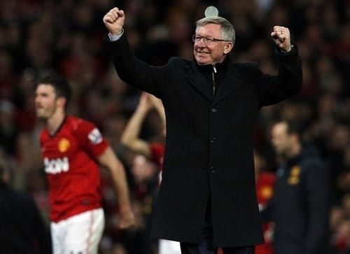 Manchester United manager Sir Alex Ferguson retires