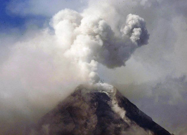 Philippine Volcano Spews Rocks, Killing Five
