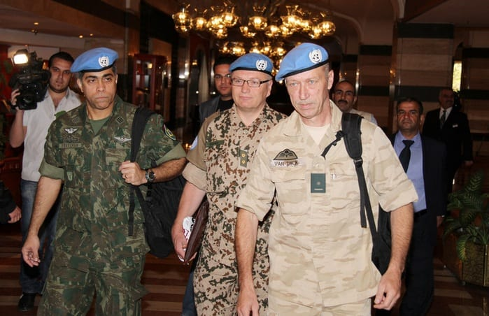 UN Observers Arrive In Syria As Fighting Continues