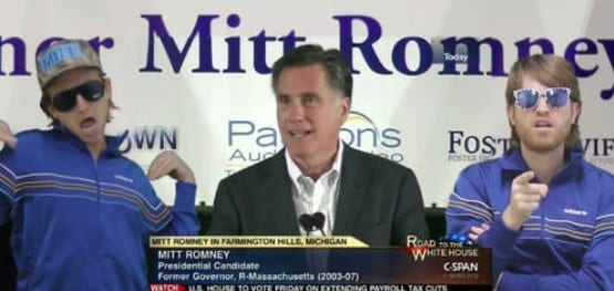 - VIDEO – Mitt Likes Music, in This Gregory Brothers video mash-up