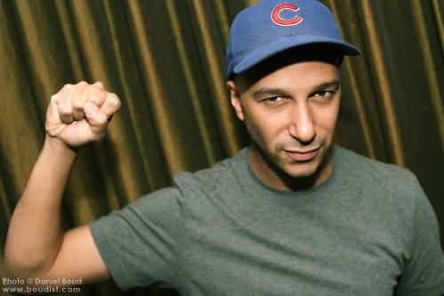 "Tom Morello, asked today by a reporter: ""If you had one minute with Barack Obama, what would you say to him?"""
