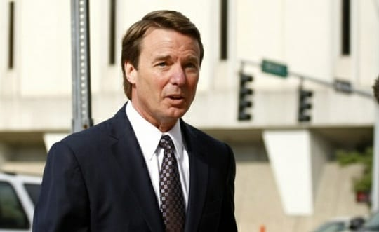 John Edwards Not Guilty on One Charge, Hung Jury on other Counts