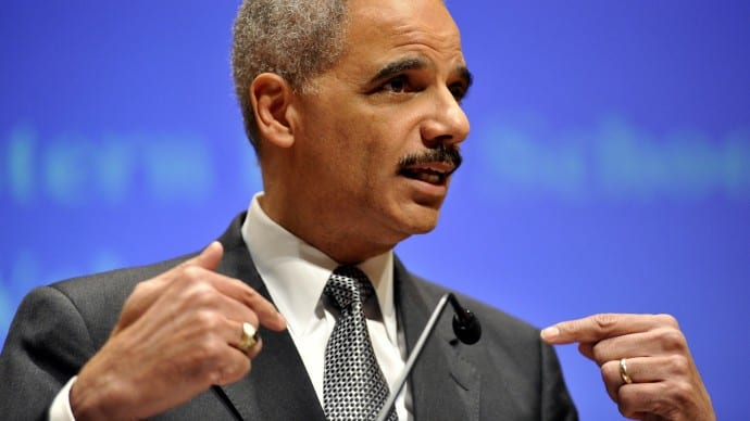 Holder: I'm a 'Proxy' for Attacks