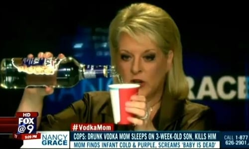 Woman Who Killed Her Baby And Was Dubbed 'Vodka Mom' By Nancy Grace Dies After Setting Herself On Fire