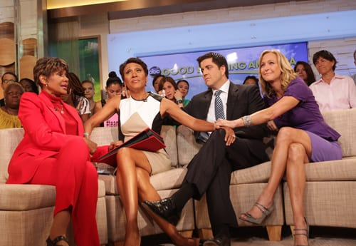Mother of Good Morning America's Robin Roberts dies