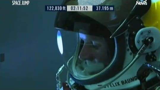 Watch Live Stream The Space Jump Broadcast By Red Bull Stratos