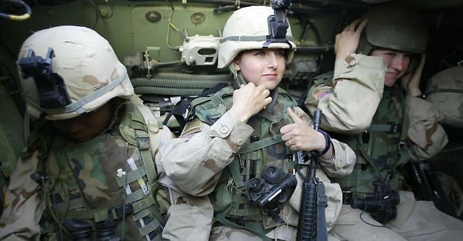 ACLU Suing To Allow Women In Combat