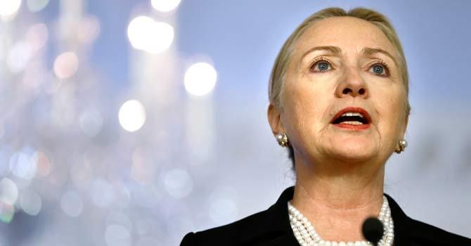 Secretary Of State Clinton To Meet With Middle East Leaders