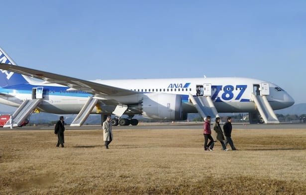 Boeing 787 Dreamliners Grounded By FAA After Battery Incident In Japan