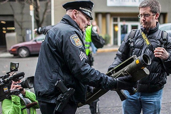 Missile Launcher Appears At Seattle Gun Buyback Event