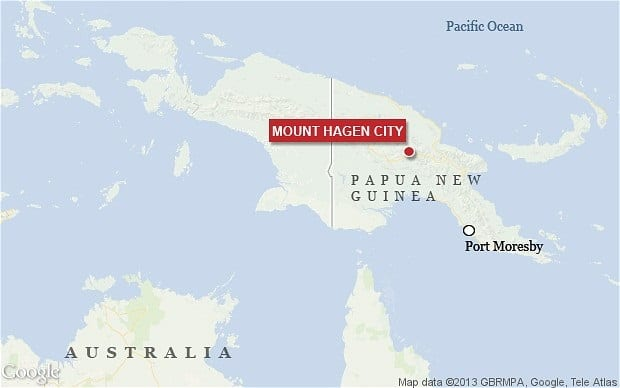 Accused Witch Burned Alive In Papua New Guinea1