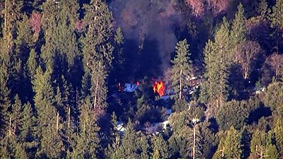 Body Believed To Be Chris Dorner Removed From Cabin Sources Tell ABC New