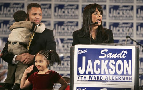 Federal Charges Filed Against Jesse Jackson Jr. Wife