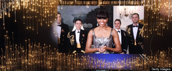 Michelle Obama Oscars Appearance First Lady Presents Best Picture To Argo