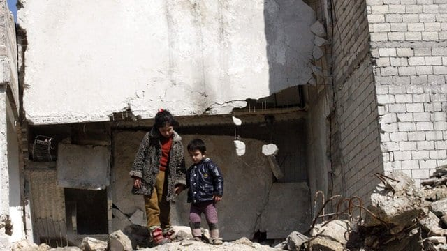 Report Syria Children 'Recruited' By Armed Groups