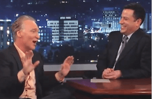 Bill Maher Tells Kimmel Which 'Liberal' Makes Him Want To 'Join The Tea Party And Marry Ann Coulter'