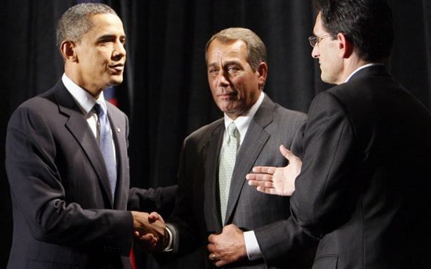Dinner Dates May Be Powerful Obamas Budget Will Force GOP to Admit What Obamas Been Offering All Along