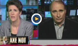 Maddow Calls Out Axelrod for Support of Presidents Social Security Cuts