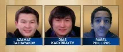 Boston Bombing Suspect's Friends Charged