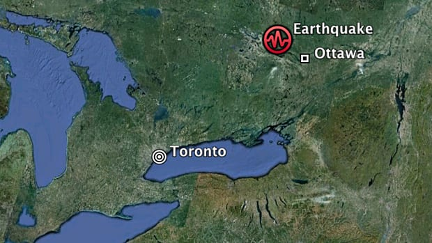 Toronto and Ottawa shaken offices evacuated as two earthquakes hit Ontario and Quebec