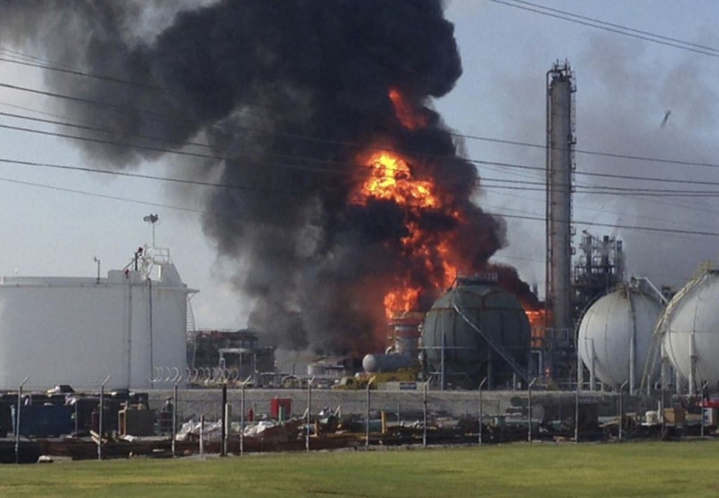 An explosion tore through a chemical plant in Geismar Louisiana on Thursday injuring 33 people.