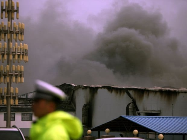 Fire kills at least 119 inside Chinese slaughterhouse