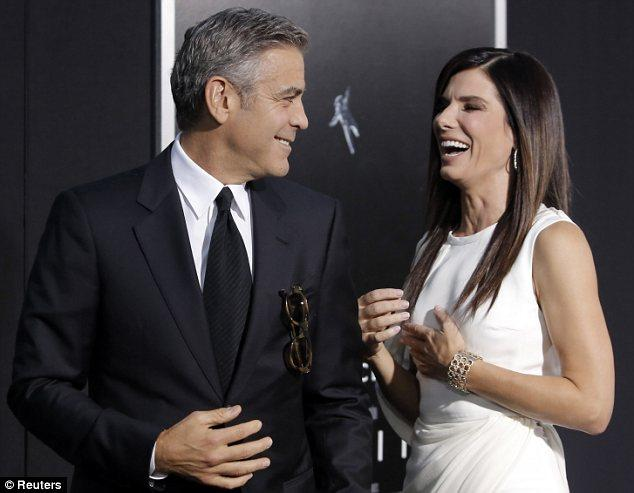 Clooney And Bullock Bring Gravity to NYC