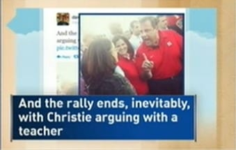 Chris Christie Reportedly Lashes Out At Teacher Melissa Tomlinson
