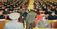 Kim Jong Uns uncle dragged away from meeting erased from documentary1