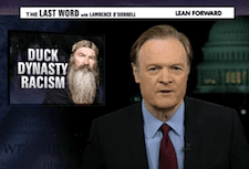 Lawrence O'Donnell Condemns Phil Robertson… But Not for His Comments About