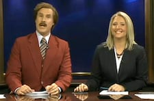 WATCH Will Ferrell Anchors Entire Local News Broadcast as Ron Burgundy