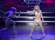 Britney Spears Accused Of Faking Abs With Makeup For Las Vegas Shows2