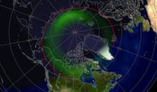 Northern lights set to shimmer through the sky after massive solar flare and radiation storm1