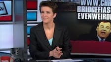 Rachel Maddow Chris Christie may have just given up on the presidency