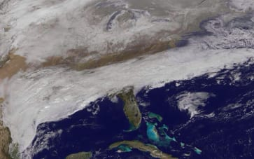 'Catastrophic' Ice Storm Forecast To Hit Southeast United States
