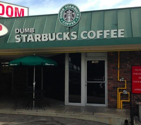 """""""Dumb Starbucks"""" Is the Most Aptly Named Coffee Shop Ever"""