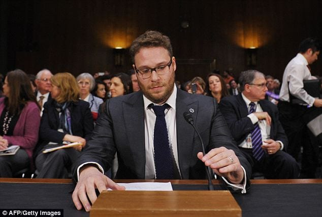 Actor Seth Rogen Shares a Heartbreaking Tale Before the United States Senate Hearing on Alzheimer's Research1
