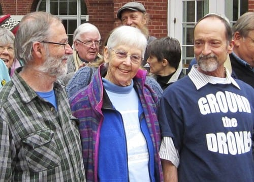 Nun 84 is sentenced to nearly 3 years in prison for nuclear protest