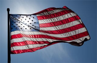 US Military Bans American Flags Made in China