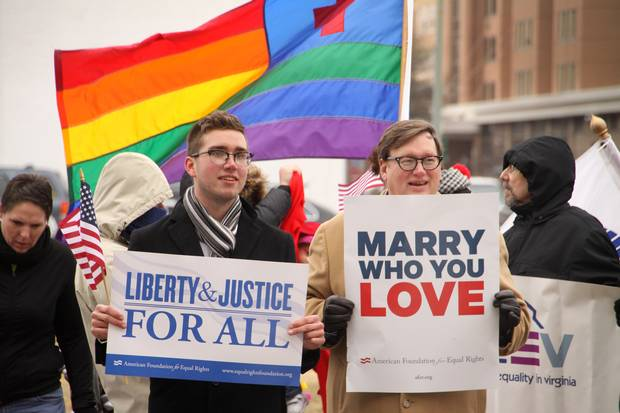 Virginia ban on same sex marriage unconstitutional