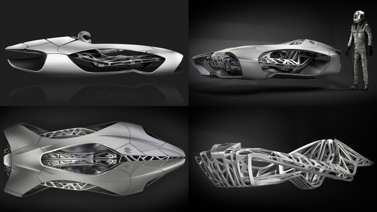 EDAGs Genesis The 3D printed car of the future1