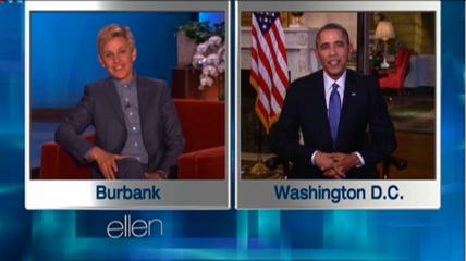 President Obama Appears on the Ellen Show VIDEO