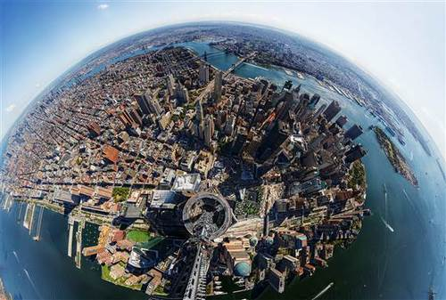 TIME takes 360 degree image from atop 1 World Trade Center